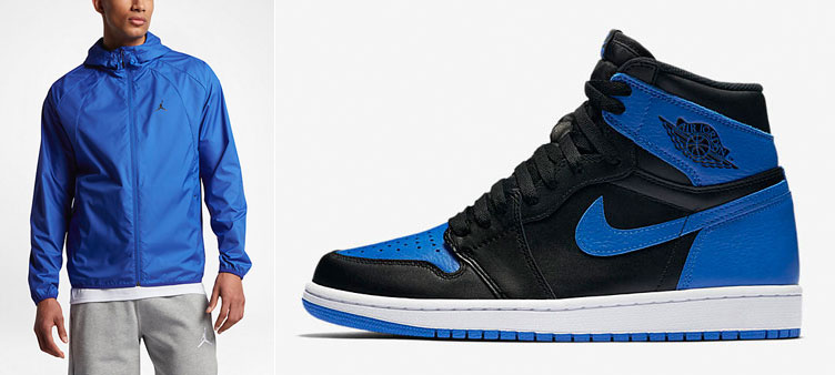 156a8eeab9a36e Air Jordan 1 Royal Jacket
