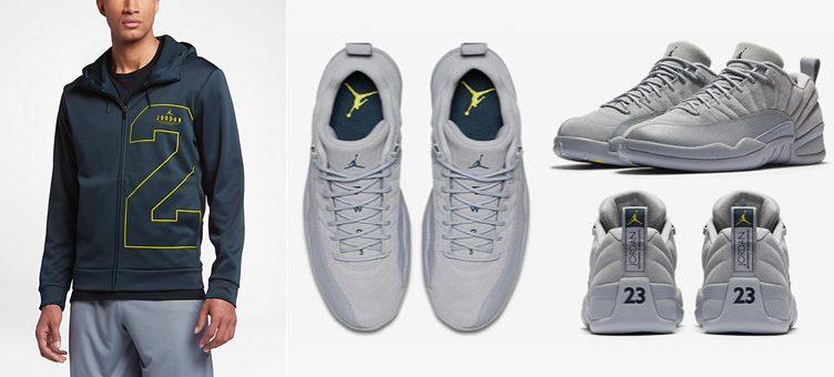air-jordan-12-wolf-grey-navy-hoodie