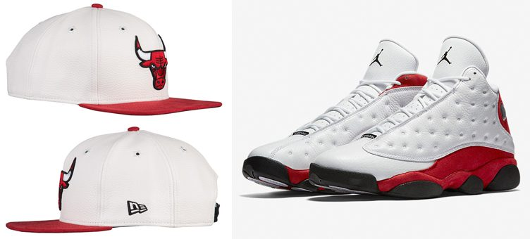 "New Era Chicago Bulls NBA Hooks Hat to Match the Air Jordan 13 ""Chicago"""
