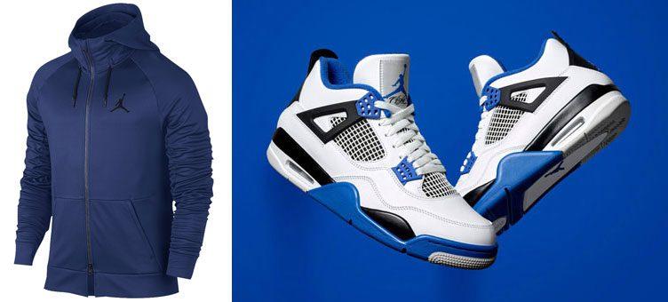 "Jordan 360 Fleece Hoodies to Match the Air Jordan 4 ""Motorsport"""