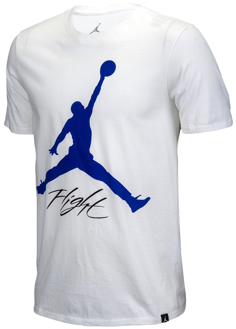 Air Jordan 4 Motorsport Shirt T White