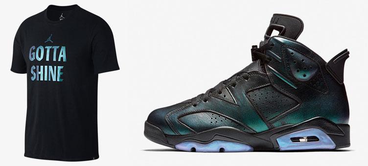 450727123e023 Air Jordan 6 All Star Gotta Shine Shirt | SneakerFits.com