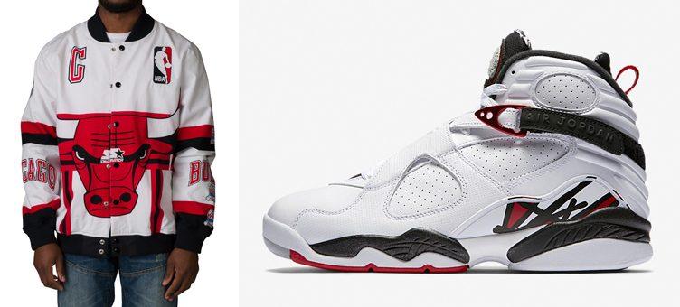"32fff518f39 Starter Bulls World Champion Jacket to Match the Air Jordan 8 ""Alternate"""
