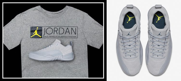 "more photos 386af 8b65b Air Jordan 12 Low ""Wolf Grey"" x Jordan Retro 12 ""The Greatest"" T-Shirt"