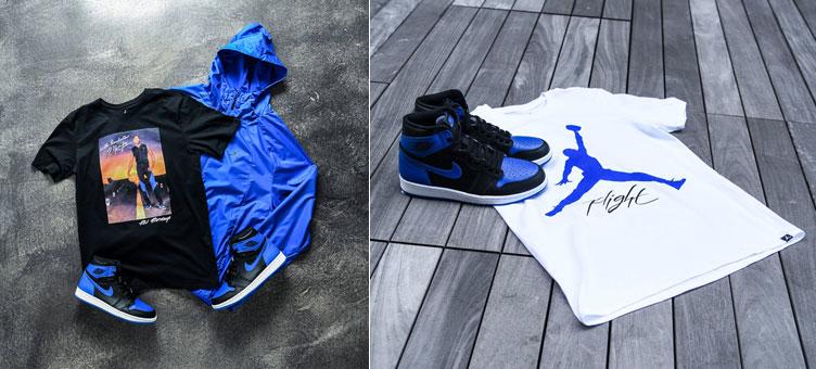 sports shoes 82256 958ef Air Jordan 1 Royal Apparel Hook Ups | SneakerFits.com