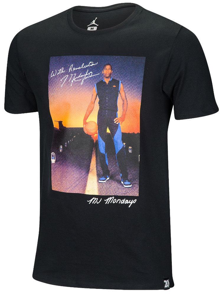 Air jordan 1 royal mj mondays shirt for Jordan royal 1 shirt