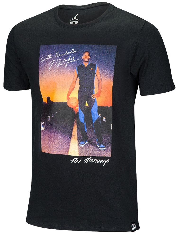 Air Jordan 1 Royal Mj Mondays Shirt