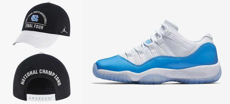 air-jordan-11-low-unc-champions-hat