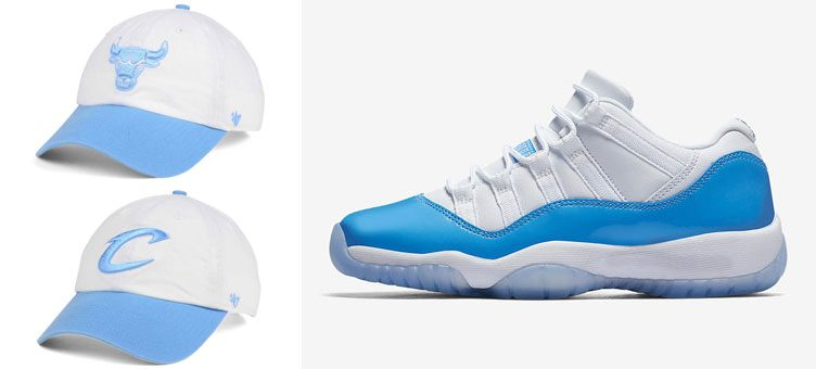 air-jordan-11-low-unc-nba-dad-hats