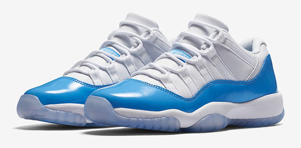 63f21a7aef99 Jordan 11 Low University Blue UNC Shirt