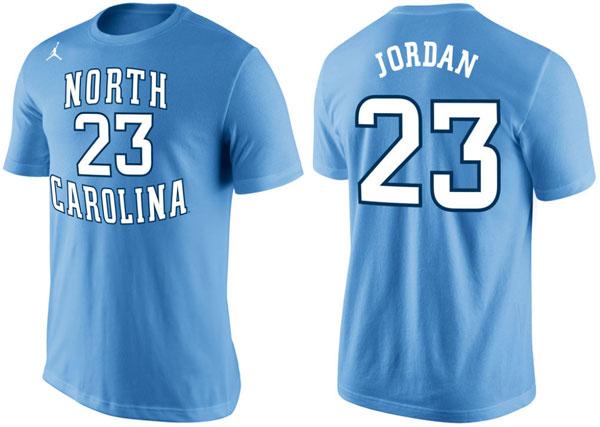 competitive price 30a1d 48dc9 Air Jordan 11 Low UNC Michael Jordan Shirt | SneakerFits.com