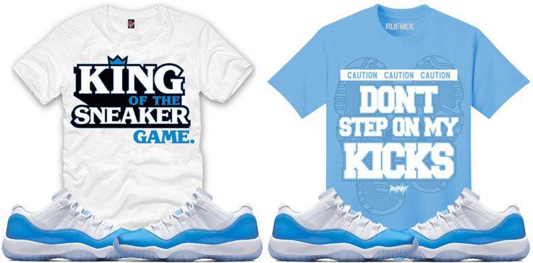Air Jordan 11 Low Quot Unc Quot Clothing Sneakerfits Com