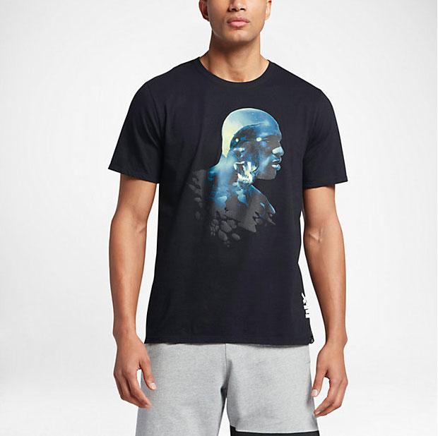 13273ba381e Air Jordan 13 Brave Blue Sneaker Shirts | SneakerFits.com