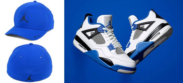 air-jordan-4-motorsport-blue-hat