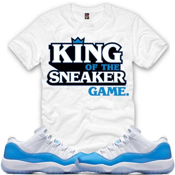 481fd198d67 Air Jordan 11 Low UNC Sneaker Match Shirts | SneakerFits.com