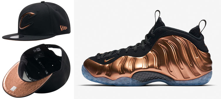 bd0742cbf05 nike-air-foamposite-copper-snapback-hat