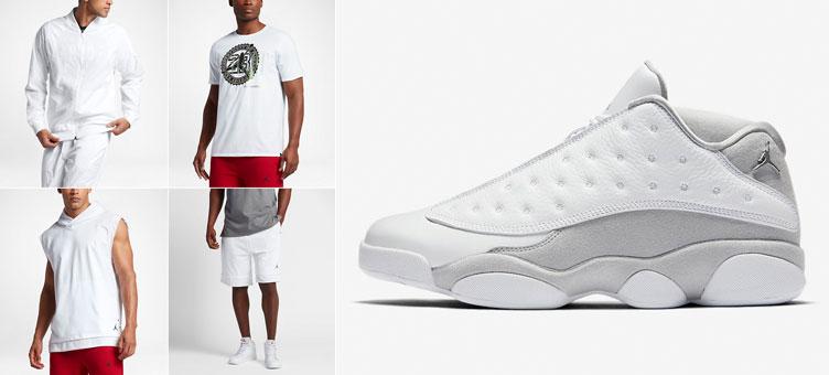 5a690455343 Air Jordan 13 Pure Money Platinum Clothing | SneakerFits.com