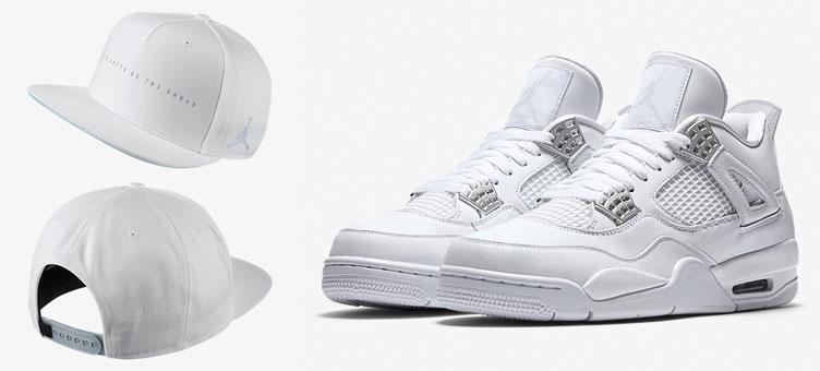5f3edad9b07 Air Jordan 4 Pure Money Hat