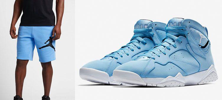 air-jordan-7-pantone-blue-shorts