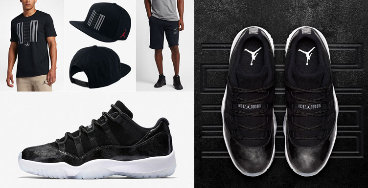 huge selection of 94dae a46d1 Air Jordan 11 Barons Clothing | SneakerFits.com