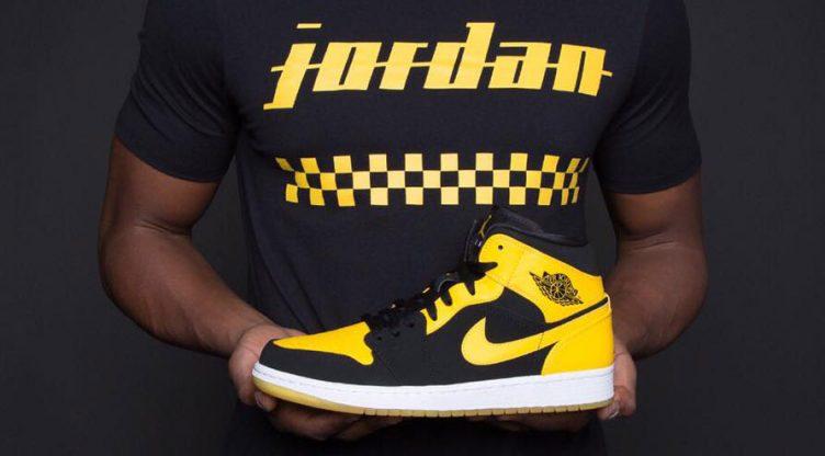 "06c18db40501 Air Jordan 1 Mid ""New Love"" T-Shirt Hook Up at Champs Sports"