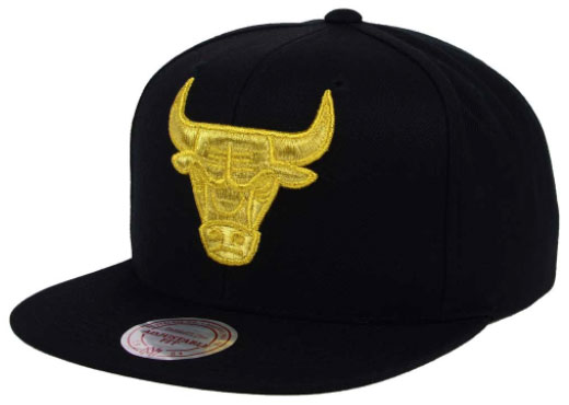 adc8a4106c00 DMP Jordan 13 14 Bulls Snapback Cap by Mitchell and Ness ...