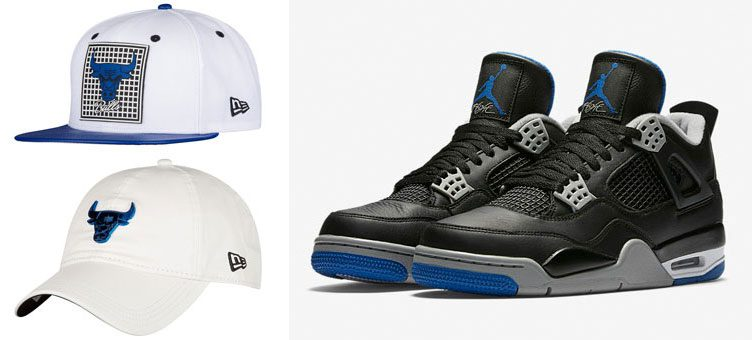 air-jordan-4-alternate-motorsport-new-era-bulls-hook-hats