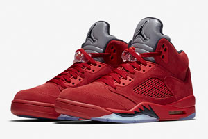 air-jordan-5-red-suede-apparel