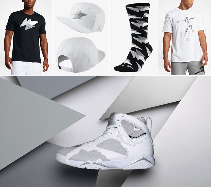 best authentic 52f04 af1f8 Air Jordan 7 Pure Money Clothing to Match | SneakerFits.com