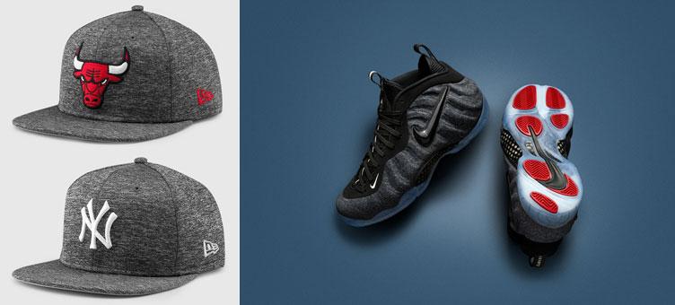 Nike Foamposite Pro Fleece New Era Hats