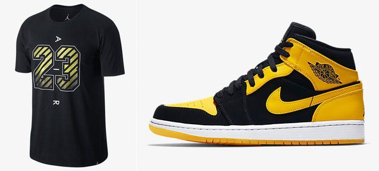 """Air Jordan 1 Mid """"New Love"""" x Jordan Dry 23 Air T-Shirt"""