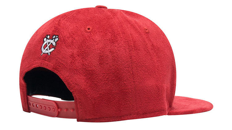 Jordan 1 Red Suede New Era Chicago Hat  52935066c8f