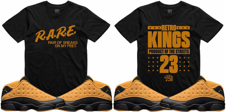 7b0935182dd55d Jordan 13 Low Chutney Sneaker Shirts by Retro Kings