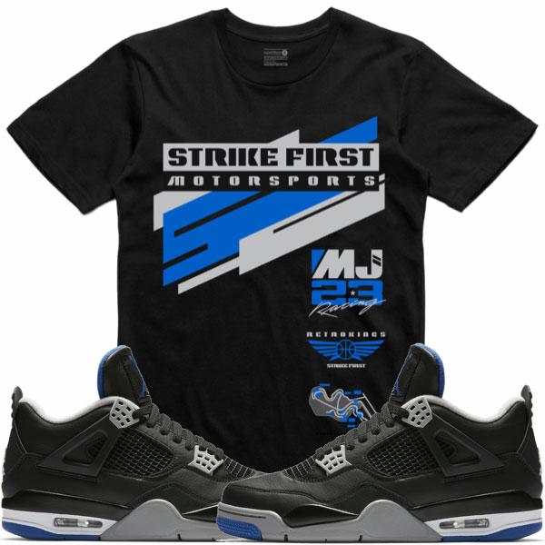 size 40 301b7 5c717 Jordan 4 Alternate Motorsport Sneaker Tees by Retro Kings ...