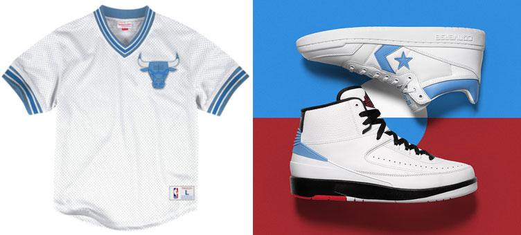 7ec5f48934f76c Jordan x Converse Pack Bulls Jersey Shirts