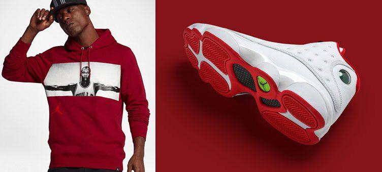 "7a47dfc5dfc Air Jordan 13 ""History of Flight"" x Jordan Sportswear Legend Flight Lite  Hoodie"