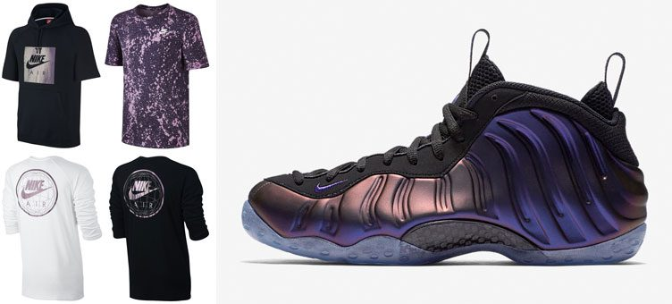 "Nike Sportswear to Match the Nike Air Foamposite One ""Eggplant"""