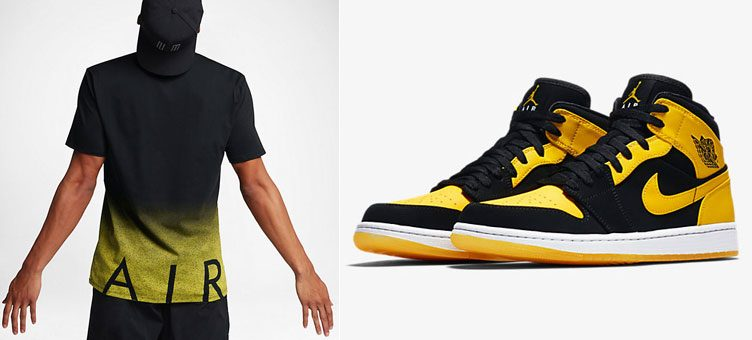 "Air Jordan 1 Mid ""New Love"" x Jordan Ele Air T-Shirt"
