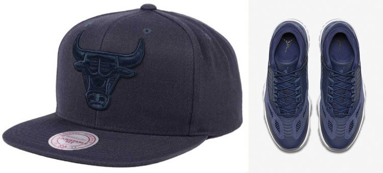 "Air Jordan 11 Low IE ""Obsidian"" x Chicago Bulls Mitchell & Ness Snapback Cap"