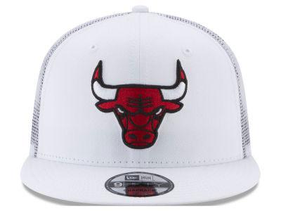10fcb254aac Jordan 13 History of Flight x New Era Bulls Mesh Snapback Cap ...