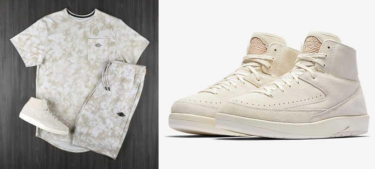 "Jordan Fadeaway Collection to Match the Air Jordan 2 Decon ""Sail"""