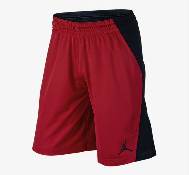 jordan-5-red-suede-short-1
