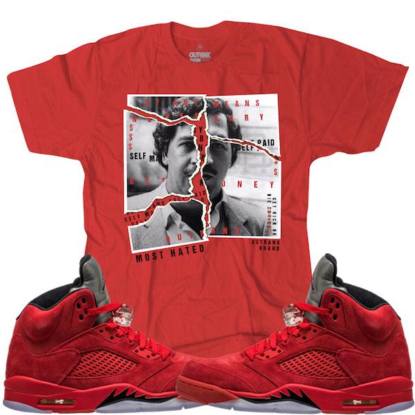 jordan-5-red-suede-sneaker-match-tee-3