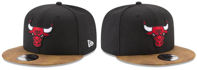 jordan-9-baseball-glove-bulls-snapback-hat-1