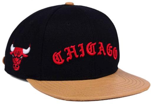 jordan-9-baseball-glove-bulls-strapback-cap-black-1