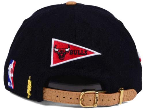 jordan-9-baseball-glove-bulls-strapback-cap-black-2