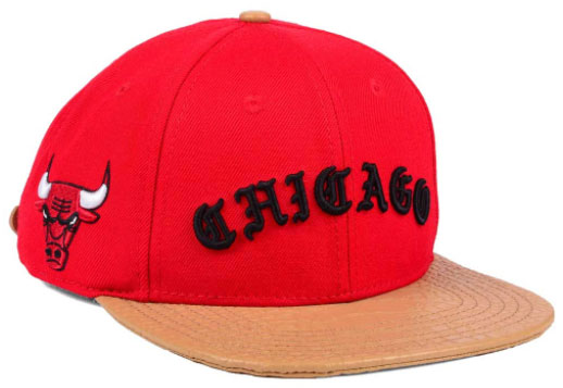 jordan-9-baseball-glove-bulls-strapback-cap-red-1