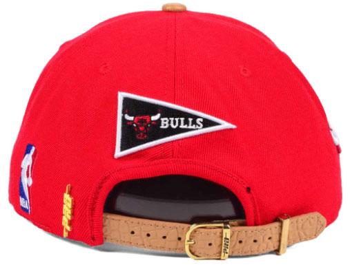jordan-9-baseball-glove-bulls-strapback-cap-red-2