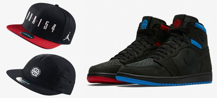 """Jordan Quai 54 Hats x Air Jordan 1 """"Quai 54"""""""
