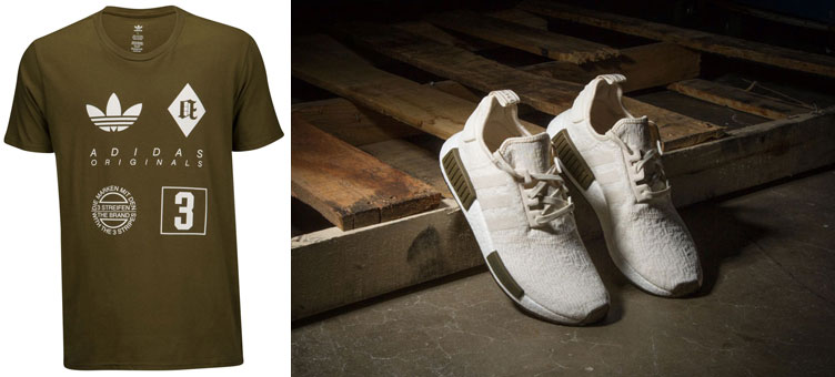 5f4730f24 adidas NMD Chalk Olive and Matching Shirt